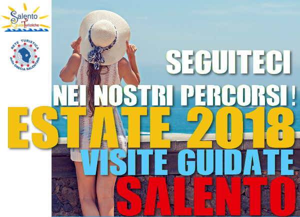 visite guidate per l'estate nel Salento